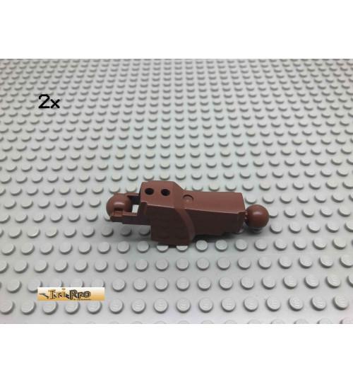 LEGO® 2Stk Bionicle Piraka Bein Brick Rotbraun, Reddish Brown 87840 36