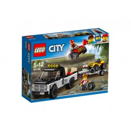 LEGO® City Quad-Rennteam
