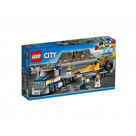 LEGO® City Dragster-Transporter