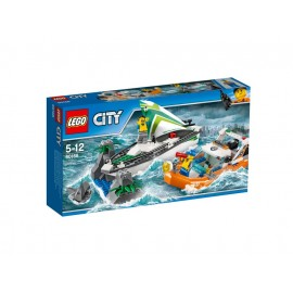 LEGO® City Segelboot in Not