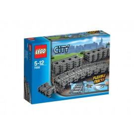 LEGO® City Flexible Schienen