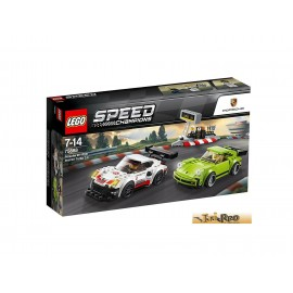 LEGO® Speed Champions Porsche 911 RSR und 911 Turbo 3.0