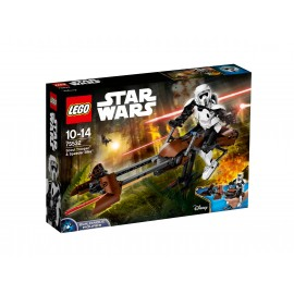 LEGO® Star Wars™  Scout Trooper™ & Speeder Bike™