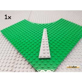 LEGO® 1Stk Keil / Flügelplatte 12x3 links neu-hellgrau 47307