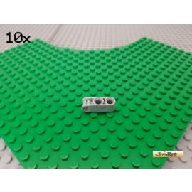 LEGO® 10Stk Technic Achse / Pin Verbinder 2 Löcher 3 lang neu-hellgrau 42003