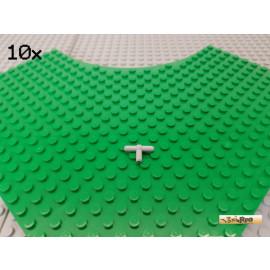 LEGO® 10Stk Pneumatikverbinder T-Stab neu-hellgrau 4211508