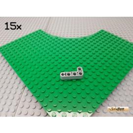LEGO® 15Stk Technic Liftarm L-förmig 2x4 neu-hellgrau 32140