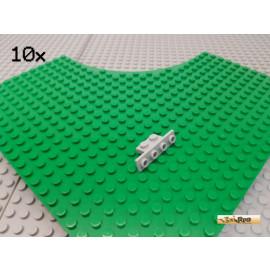 LEGO® 10Stk Winkelplatte 1x2-1x4 neu-hellgrau 2436
