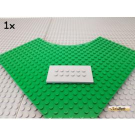 LEGO® 1Stk Platte / Fliese modifiziert 4x8 neu-hellgrau 6576