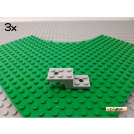 LEGO® 3Stk Platte / Doppelwinkel 5x2x1 1/3 neu-hellgrau 11215