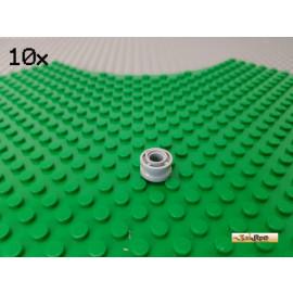 LEGO® 10Stk Technic Laufrolle / Führungsrad / Felge 11x8mm neu-hellgrau 42610