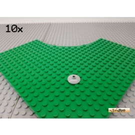LEGO® 10Stk Technic Teller / Schüssel 2x2 neu-hellgrau 4740