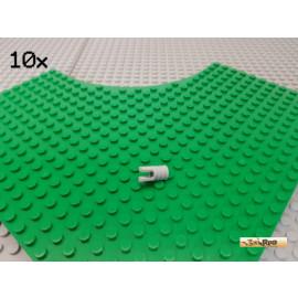 LEGO® 10Stk Rastergelenk neu-hellgrau 30553
