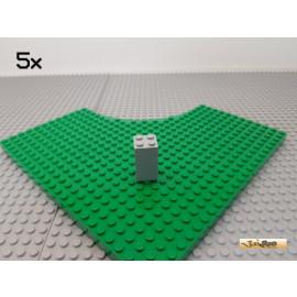 LEGO® 5Stk Mauerstein 2x2x3 neu-hellgrau 30145