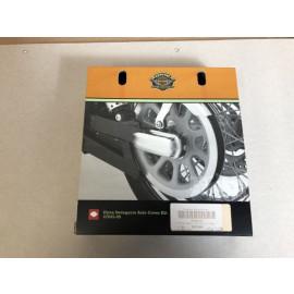 Harley Davidson 47645-09 REAR AXLE COVER KIT, DYNA