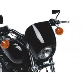 68129-98DH Harley-Davidson Scheinwerferschirm Vivid Black   Neu&OVP
