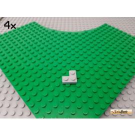 LEGO® 4Stk Platte 2x2 Ecke neu-hellgrau 2420