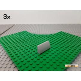 LEGO® 3Stk Bogenstein 2x4 schräg neu-hellgrau 61068