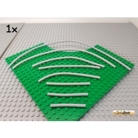 LEGO® 1Stk Pneumatikschlauch Set diverse Längen neu-hellgrau 21830