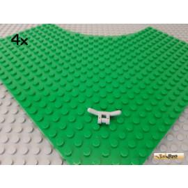 LEGO® 4Stk Lenker Lenkstange Griff Halter neu-hellgrau 30031