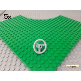 LEGO® 5Stk Technic Lenkrad neu-hellgrau 2819
