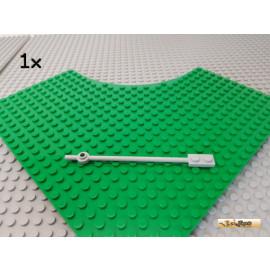 LEGO® 1Stk Stange mit Platte 1x2 12 lang neu-hellgrau 42445