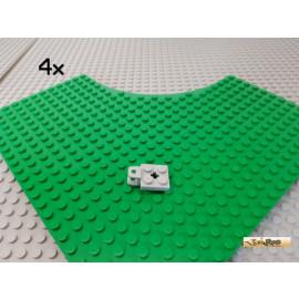 LEGO® 4Stk Platte 2x2 modifiziert Anhänger Kupplung neu-hellgrau 63082