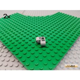 LEGO® 2Stk Technic Verbinder Eck 90° neu-hellgrau 44809