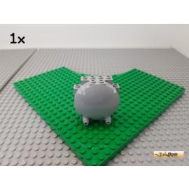 LEGO® 1Stk Tresortür 2x6x6 neu-hellgrau 42018
