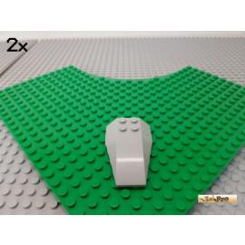 LEGO® 2Stk Keilstein Boot neu-hellgrau 43713