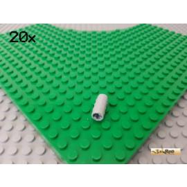 LEGO® 20Stk Technic Hülse / Achsverbinder gerade neu-hellgrau 6538