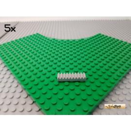 LEGO® 5Stk Zahnstange 1x4 neu-hellgrau 3743
