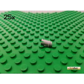 LEGO® 25Stk Technic 3/4 Pin neu-hellgrau 32002