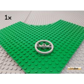 LEGO® 1Stk Technic Riemenscheibe / Lenkrad neu-hellgrau 3736