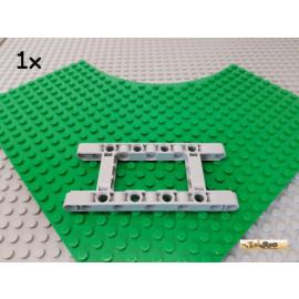 LEGO® 1Stk Technic Liftarm Rahmen 5x11 neu-hellgrau 64178