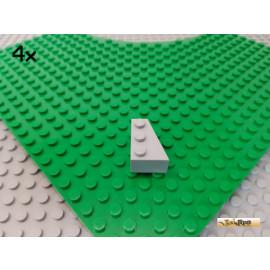 LEGO® 4Stk Keilstein 3x2 rechts neu-hellgrau 6564