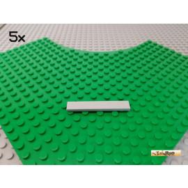 LEGO® 5Stk Fliese 1x6 neu-hellgrau 6636