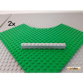 LEGO® 2Stk Basicstein 1x12 neu-hellgrau 6112
