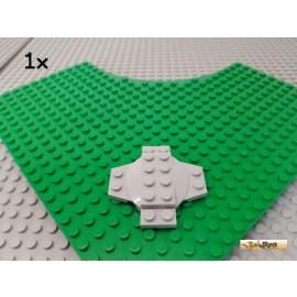 LEGO® 1Stk Kreuzplatte 6x6 mit Kuppel neu-hellgrau 30303