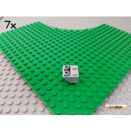LEGO® 7Stk Dachstein 2x2 45° negativ neu-hellgrau 3660