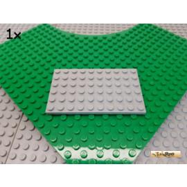LEGO® 1Stk Platte 6x10 neu-hellgrau 3033