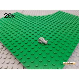 LEGO® 20Stk Technic Verbinder Pin / Achse neu-hellgrau 32039