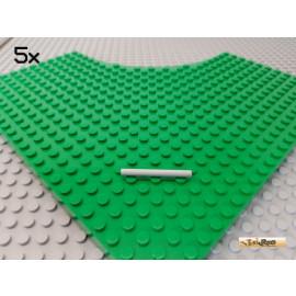 LEGO® 5Stk Stab 4 lang neu-hellgrau 30374