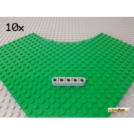 LEGO® 10Stk Technic Liftarm 5 Loch neu-hellgrau 32316
