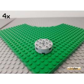 LEGO® 4Stk Technic Rundstein 4x4 neu-hellgrau 6222