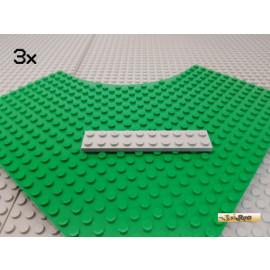 LEGO® 3Stk Platte 2x10 neu-hellgrau 3832