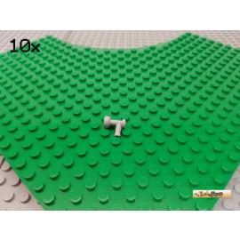 LEGO® 10Stk Wasserhahn 1x1 neu-hellgrau 4599