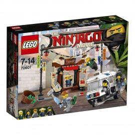 LEGO® NINJAGO Movie Verfolgungsjagd in Ninjago City