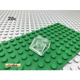 LEGO® 20Stk 2x2 Dachstein Schrägstein transparent 35277 3039