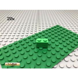 LEGO® 20Stk 1x2 Basic Stein Classic Hellgrün Bright Green 3004